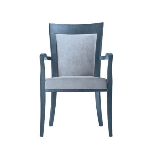 Marta-Arm-Chair-Upholstered-PO01-Front