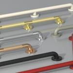 SMH grab bars custom finish