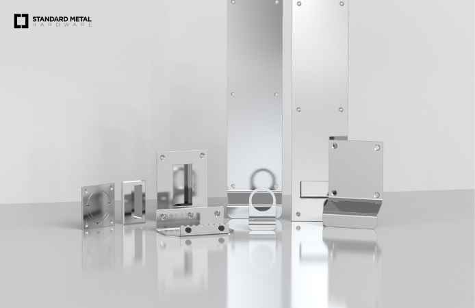 Standard Metal Hardware_Flush Pulls and Pull Plates