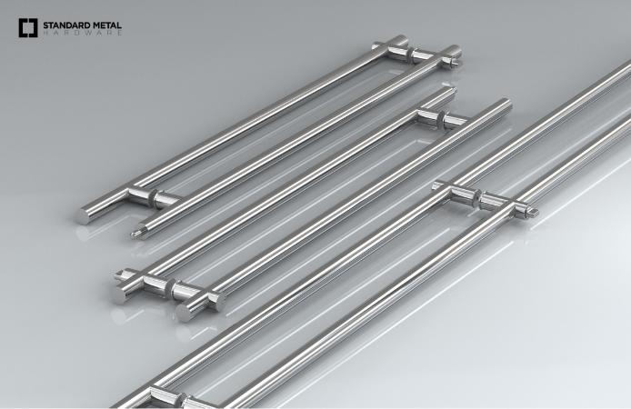 Standard Metal Hardware_Locking Ladder Pulls