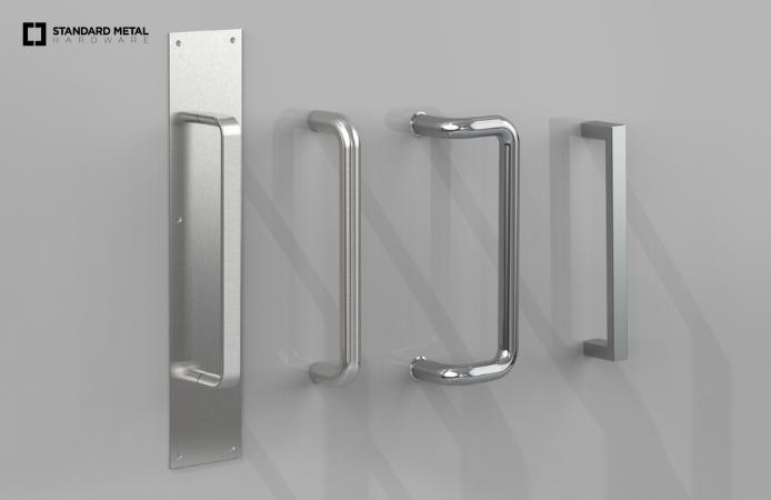Standard Metal Hardware_Standard Door Pulls