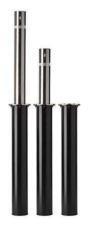 Locking-Retractable Stainless Steel Bollard_TH