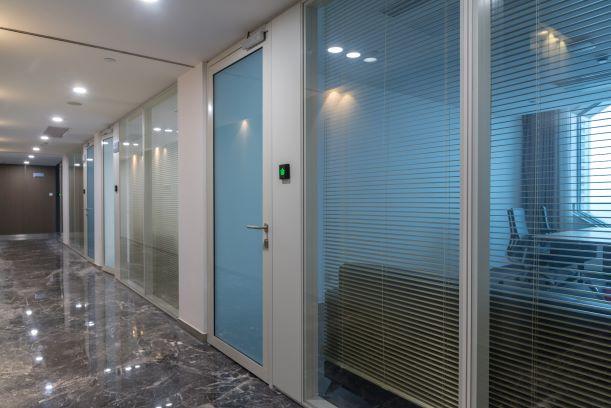 Glass Partitions and Door - GVA INTERIORS