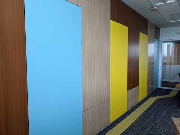 STEEPLE WALL SYSTEM SOLID WALL - GVA INTERIORS